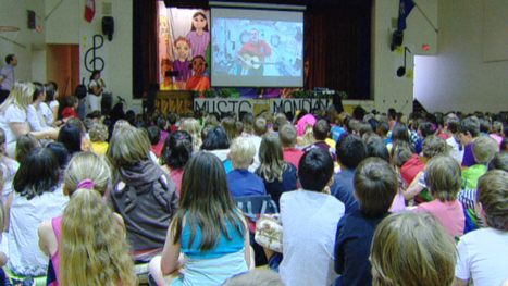Calgary students join nationwide sing-along from space - Calgary - CBC News   International Spanish Academies - ISAs Alberta   Scoop.it