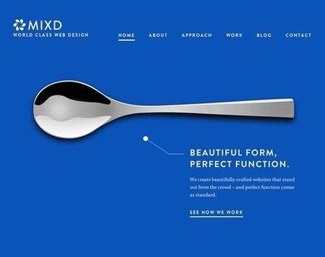 19 Examples of Minimalistic Web Designs | Inspiration | WebsiteDesign | Scoop.it