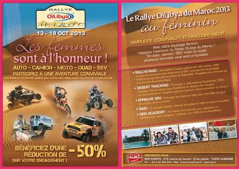 RALLYE OILIBYA DU MAROC AU FÉMININ ! « Rallye du Maroc 2013 | rallyes automobiles féminins | Scoop.it