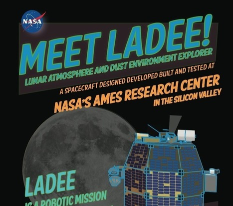 NASA LADEE Mission Infographic - Long Scroll Version | Space Exploration & Colonization | Scoop.it