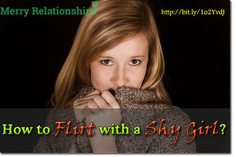 How to Flirt with a Shy Girl? | Life, Love, Personal Development and Family | Scoop.it