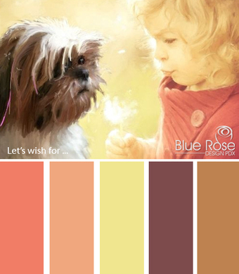Color Inspiration: Let's Wish | Typography & Color Inspirations | Scoop.it