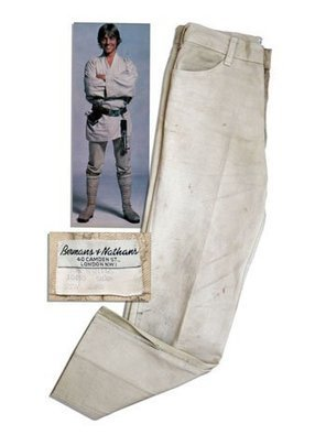 Luke Skywalker's 'Star Wars' Levi's Up for Auction | All Geeks | Scoop.it
