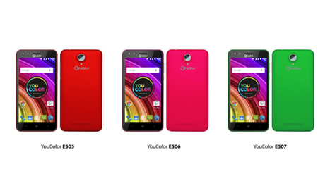 NGM You Color E505, E506 e E507, smartphone colorati da 100 euro - Notebook Italia | NGM - Solutions | Scoop.it
