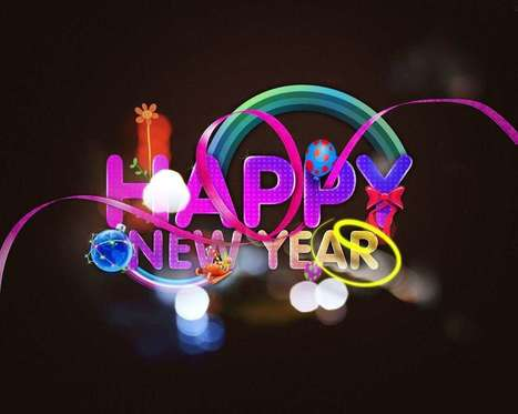 Happy New Year 2015 Wallpaper for facebook, whatsapp, wechat wishes | Wallpapers | Scoop.it