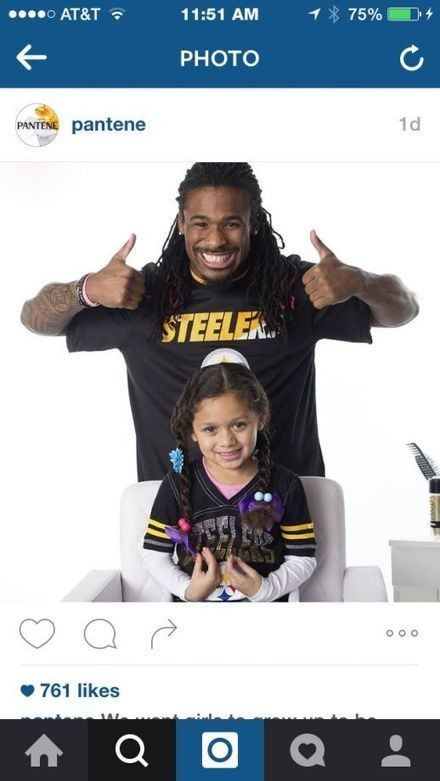 NFL players tackle daughters' hair in Super Bowl ads | Poetry for inspiration | Scoop.it
