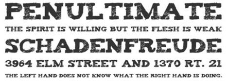 25 Free Grunge Fonts for Your Designs | Vandelay Design Blog | Creative Economy | Scoop.it