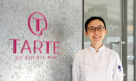 Cheryl Koh, future grande dame de la pâtisserie en Asie . | MILLESIMES 62 : blog de Sandrine et Stéphane SAVORGNAN | Scoop.it