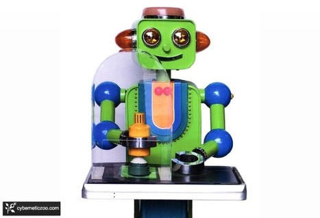 Japanese Robots: Jiro Aizawa, the Father of Toy Robots | AI, NBI, Robotics & Cybernetics & Android Stuff | Scoop.it