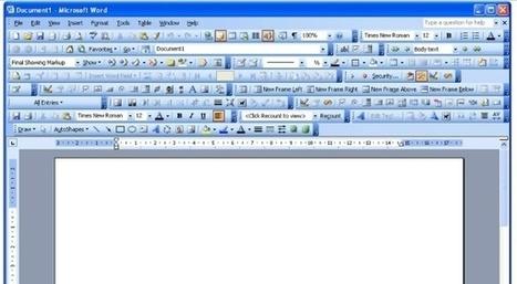 Il serait temps de dire adieu au traitement de texte de Microsoft | Slate | Geeks | Scoop.it