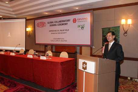 Derrik Khoo, CEO, ACGT Sdn Bhd, delivered a speech | DuPont ASEAN | Scoop.it