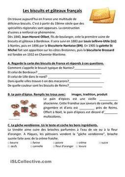 Les biscuits et gateaux francais | J'adore le français! | Scoop.it