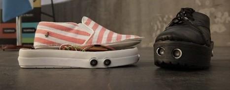 Le mag de la maison intelligente » Des chaussures intelligentes pour faciliter la vie des non-voyants | Hightech, domotique, robotique et objets connectés sur le Net | Scoop.it