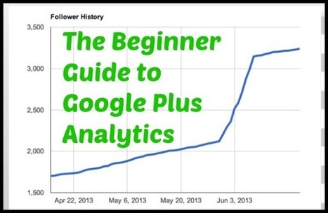 The Beginner Guide to Google Plus Analytics | Content Marketing Articles | Scoop.it