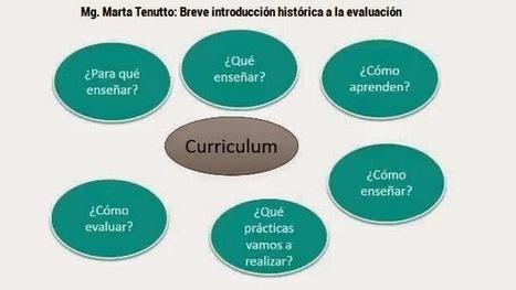Mg. Marta Tenutto: Sobre la evaluación | Aprender para enseñar | Scoop.it