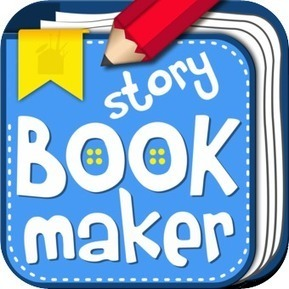 Storybook Maker | From Classroom to Home: Extend Learning with Mobile Device Apps: K-5 Reading and Writing | Scoop.it