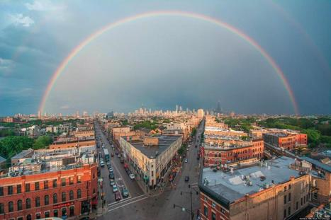 LOOK: Stunning Shot Of Double Rainbow Over Chicago | Weather and Climate News | Scoop.it