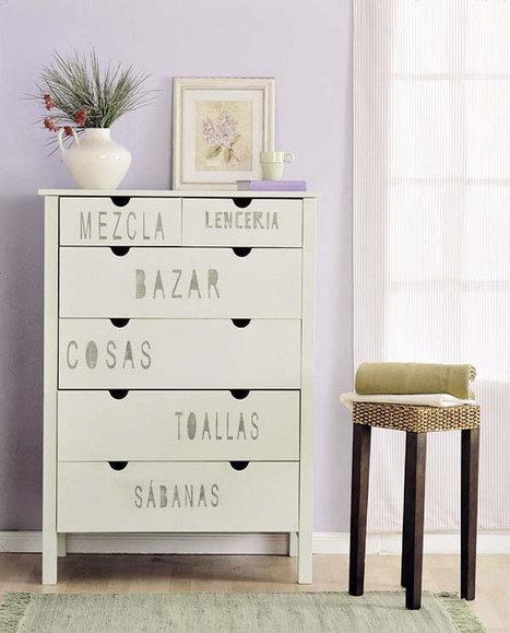 Personaliza un mueble para mantelería y blanco del hogar - Guía de MANUALIDADES | artes decorativas | Scoop.it