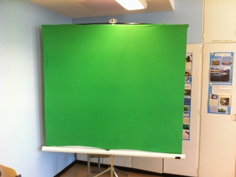 Education Technology - theory and practice: Green Screen iPad Studio in Classroom | Notícies TIC Educació | Scoop.it