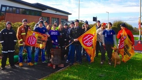 Firefighters slam Avon Fire Authority for increasing senior management pay whilst frontline jobs are cut   Trade unions and social activism   Scoop.it