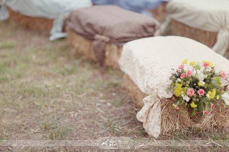 "Wedding seating - a touch of the ""unexpected"" 