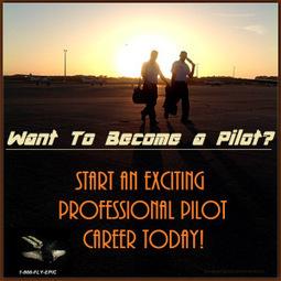 Pilot Careers Vs. Other Professional Careers | pilot schools | Scoop.it
