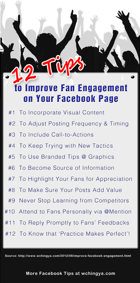 12 Must-Know Tips to Improve Fan Engagement on Your Facebook Page | Social @ Blogging Tracker | How to Market Your Small Business | Scoop.it