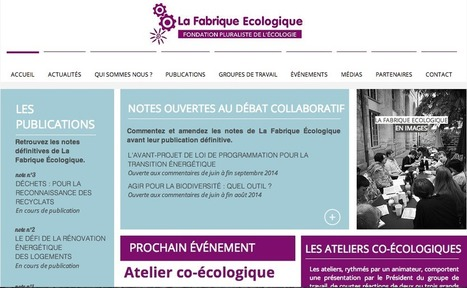 La Fabrique Ecologique | Animer la ville | Scoop.it