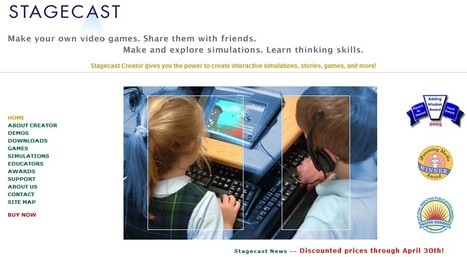 Stagecast-Kids Develop Thinking Skills while Learning Programming Concepts. | 21st Century Tools for Teaching-People and Learners | Scoop.it
