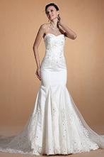 [EUR 219,99] Carlyna 2014 Nouveauté Sweetheart Perles&Dentelle Sirène Robe de Mariée (C37144407) | robe de mariée, robe de soirée | Scoop.it