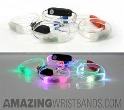 LED Flashing Light Up Bracelets | Craze On Wristbands | Scoop.it