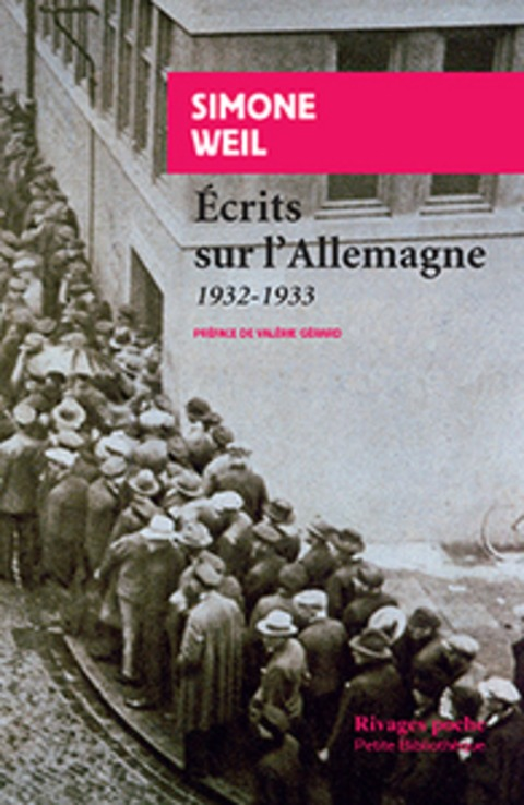 S. Weil, Ecrits sur l'Allemagne - 1932-1933 | Hallo France,  Hallo Deutschland     !!!! | Scoop.it