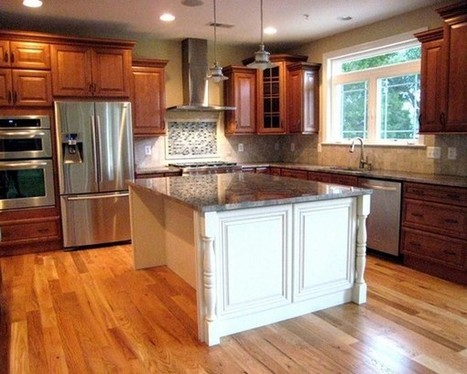 Get Solid Wood Kitchen Cabinets Advantages and Ideas | Home Designs an Decorating Ideas | Scoop.it