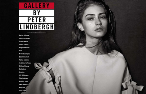 'Gallery'   19 models shot by Peter Lindbergh for Vogue Italia   March 2013   Photo   Scoop.it