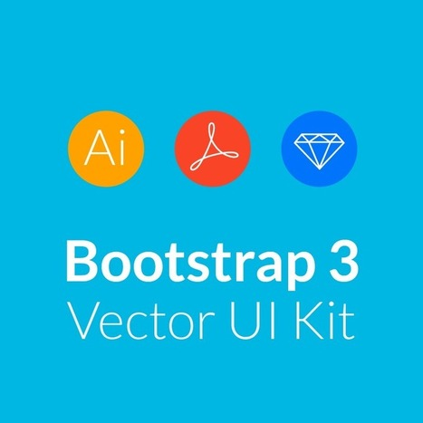 Bootstrap 3 Vector UI Kit Mocks Up Control & Admin Panels | Collaborative Revolution | Scoop.it