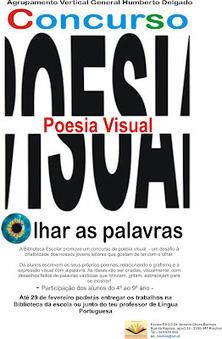 Biblioteca Escolar: Concuso de POESIA VISUAL | Pelas bibliotecas escolares | Scoop.it