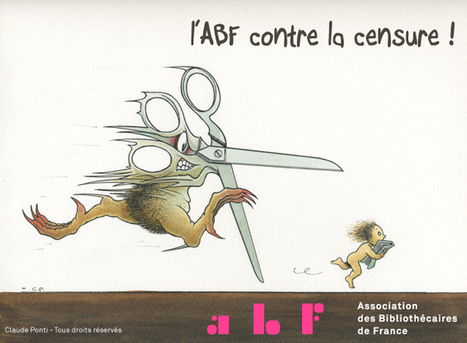 Achetez le badge de l'ABF contre la censure ! | bib | Scoop.it