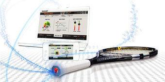 Une raquette connectée chez Babolat | Technologies du bonheur | Scoop.it