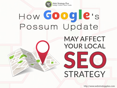How Google's Possum Update May Affect Your Local SEO Strategy   Social Media, Web Marketing, Blogging & Search Engines   Scoop.it