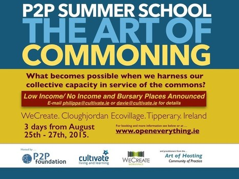P2P Summer School - Concession rate for Low Income and Students Announced | P2P Foundation | Peer2Politics | Scoop.it