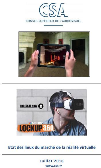 Le CSA fait l'état des lieux du marché de la réalité virtuelle | DocPresseESJ | Scoop.it