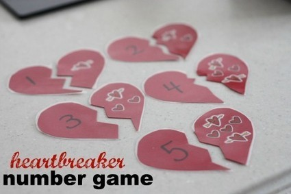 """Heart Breaker"" Number Game - I Can Teach My Child! 