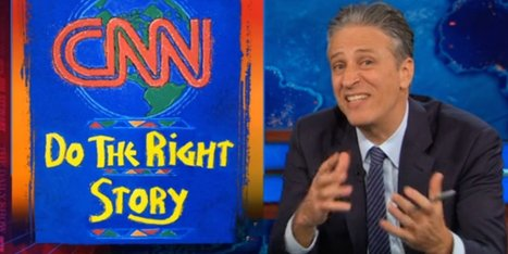 Jon Stewart calls out CNN for ignoring UN's climate change report | Climate change and the media | Scoop.it