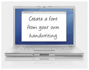 Get your own handwriting font - Digital Scrapbooking HQ | digital scrapbooking | Scoop.it