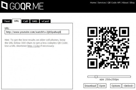 How To Create A QR Code That Opens Mobile Video - 708 Media | Technology in the Classroom | Scoop.it