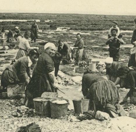 Des lavandières en bord de mer | Histoire normande | L'écho d'antan | Scoop.it