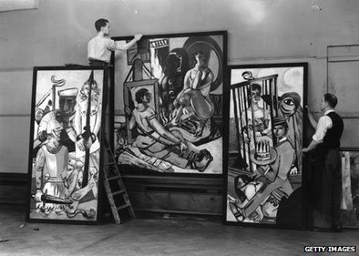 Why Hitler put 'degenerate' art on show | Systems of Knowledge | Scoop.it