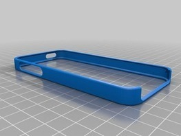 iPhone 5 Bumper for Customization and 3D Printing by duann ... | Big and Open Data, FabLab, Internet of things | Scoop.it
