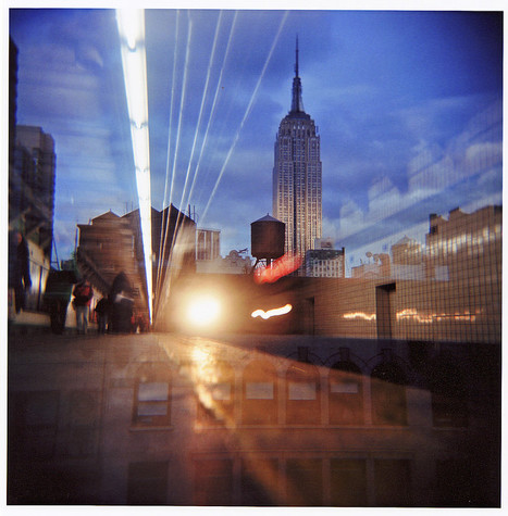 Empire State Building & Subway - Holga | Flickr: partage de photos! | Still Alive Analog Photography | Scoop.it