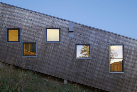 Three Homes Take Advantage of Environment, Site + Terrain in Sweden | sustainable architecture | Scoop.it